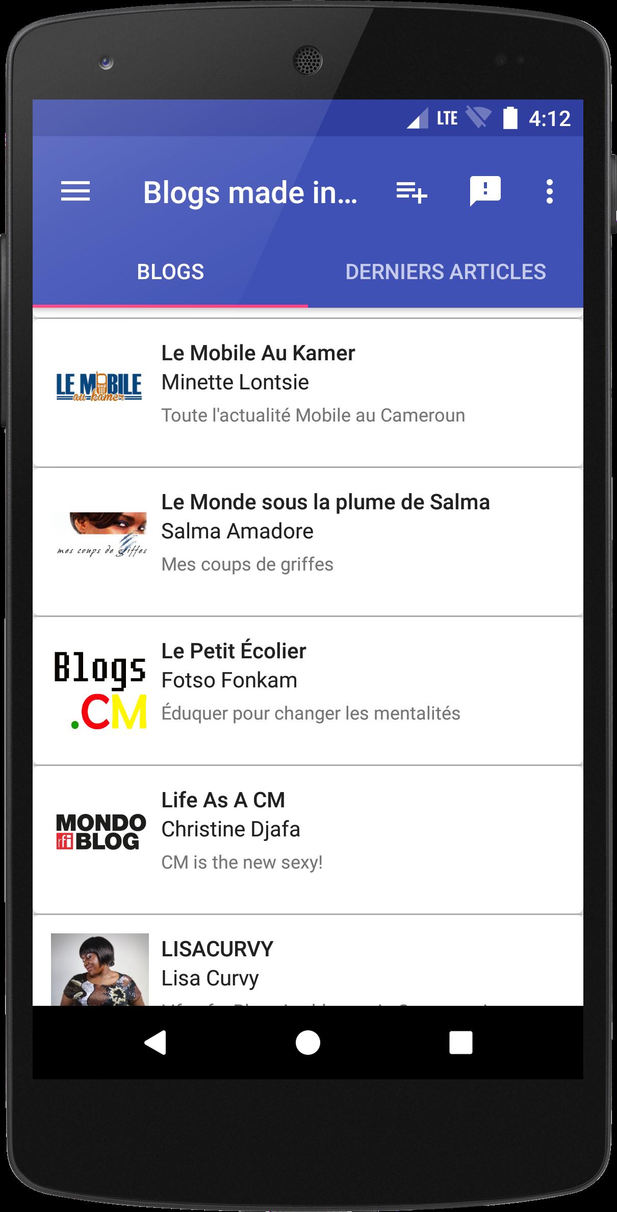 Blogs.CM